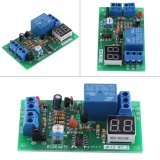 Harga Dc12V Led Display Countdown Timing Timer Delay Turn Off Relay Switch Module Intl Original