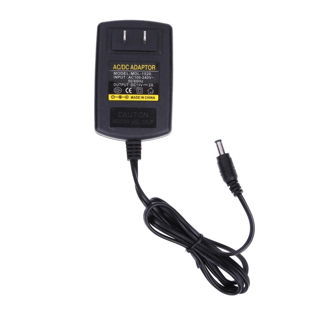 Beli Dc15V 2A Ac 100 V 240 V Ke Dc 15 V Converter Power Supply Adapter 5 5 As Intl Vakind