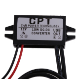 Beli Dc 8 V 22V Untuk 5 V 3 Amp Konverter 2Usb 15 Watt Tampilan Modul Catu Daya Mobil Vakind Dengan Harga Terjangkau