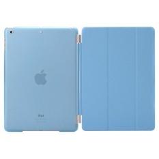 De Cheng untuk Apple IPad 2/3/4 Detachable Magnetic Smart CoverandCrystal Back Case-Intl