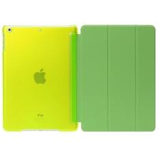 De Cheng untuk Apple Ipad 6 Non Detachable Smart Cover With BackCase (Hijau)-Intl