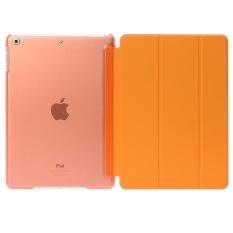 De Cheng for Apple Ipad 6 Non detachable Smart Cover with BackCase(Orange) - intl
