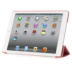 De Cheng for Apple Ipad 6 Non detachable Smart Cover with BackCase(Red) - intl