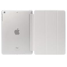 De Cheng untuk Apple IPad 6 Non Detachable Smart Cover With BackCase (Putih) (LUAR NEGERI)-Intl