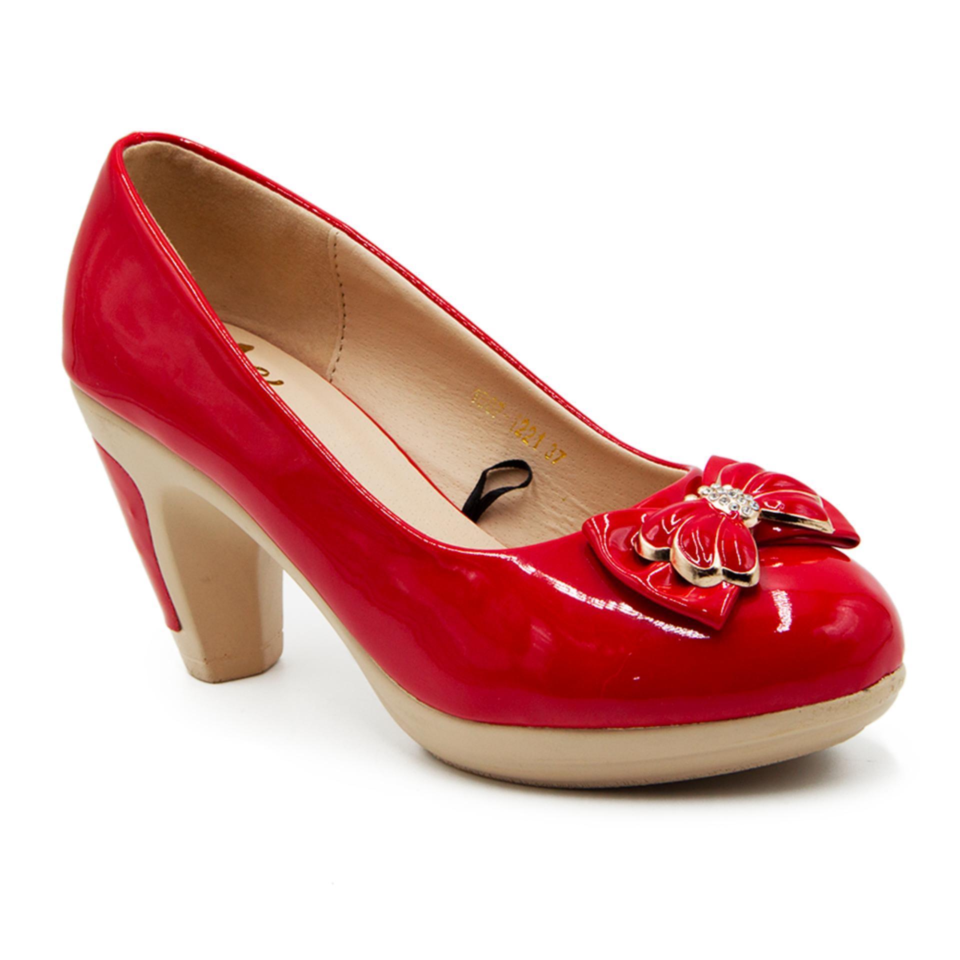 Harga Dea Sepatu Fantofel Wanita 1607 1221 Red Yg Bagus