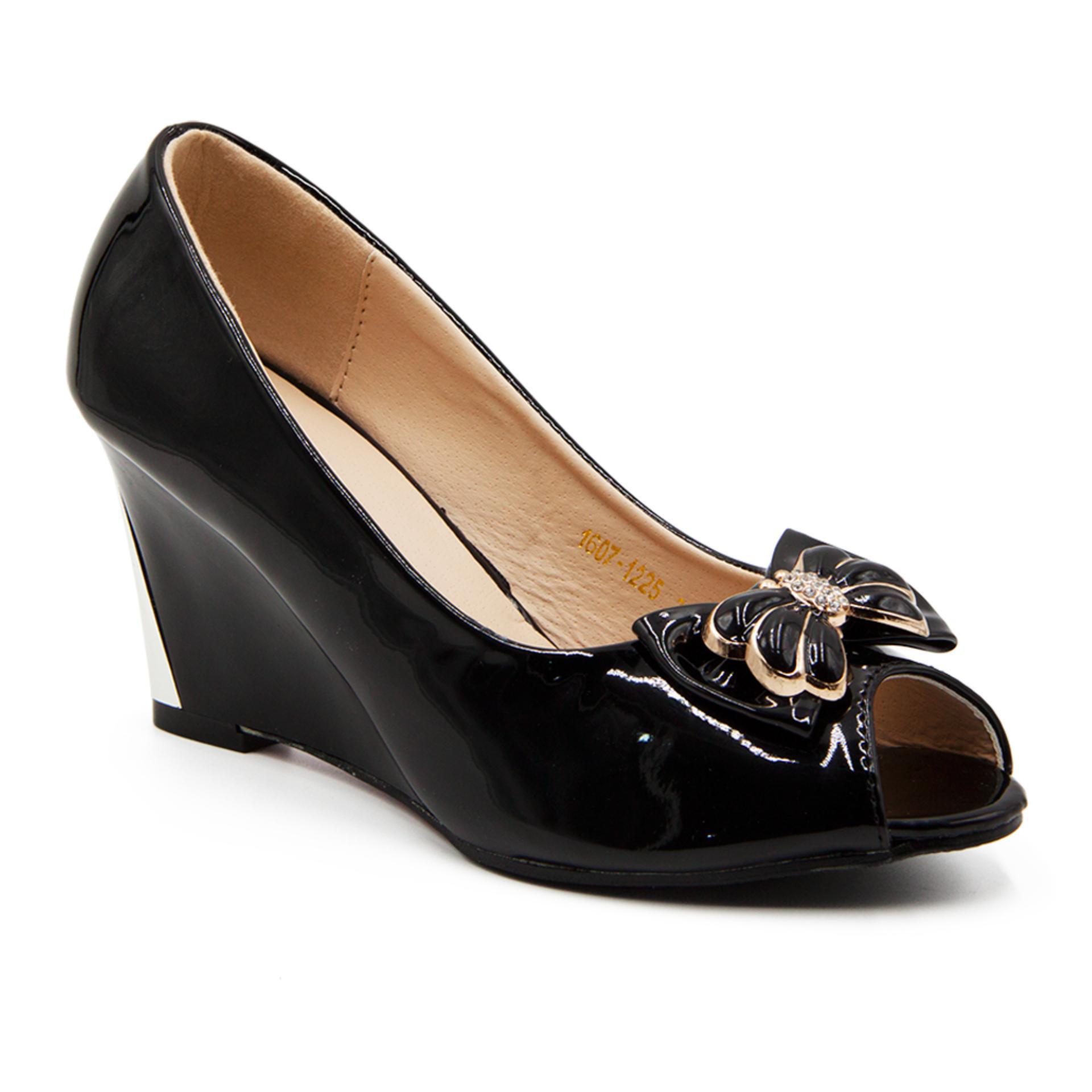 Toko Dea Sepatu Fantofel Wanita 1607 1225 Black Lengkap Di Indonesia