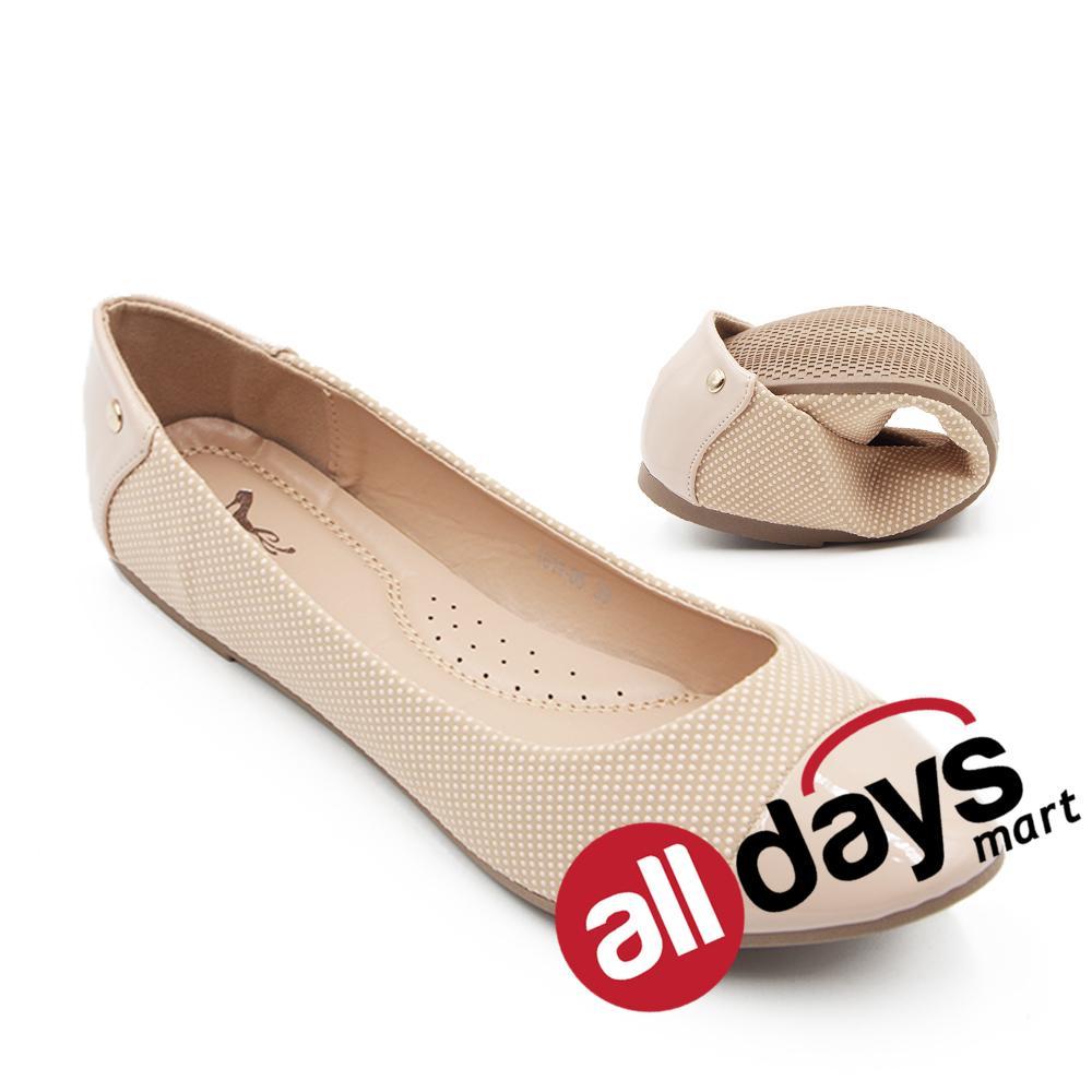 Promo Dea Sepatu Flat Trepes Selop Lady Flat Shoes 1611 05 Beige Dea