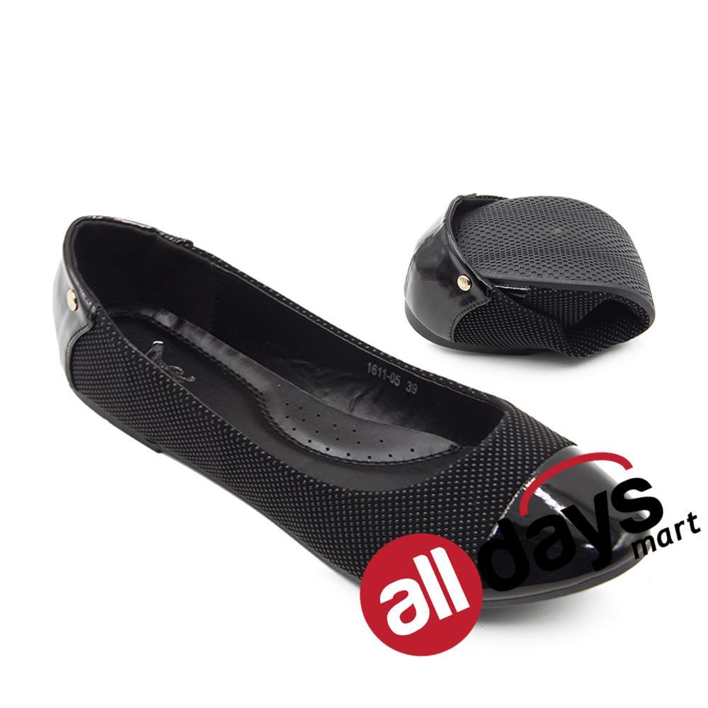 Beli Dea Sepatu Flat Trepes Selop Lady Flat Shoes 1611 05 Black Online