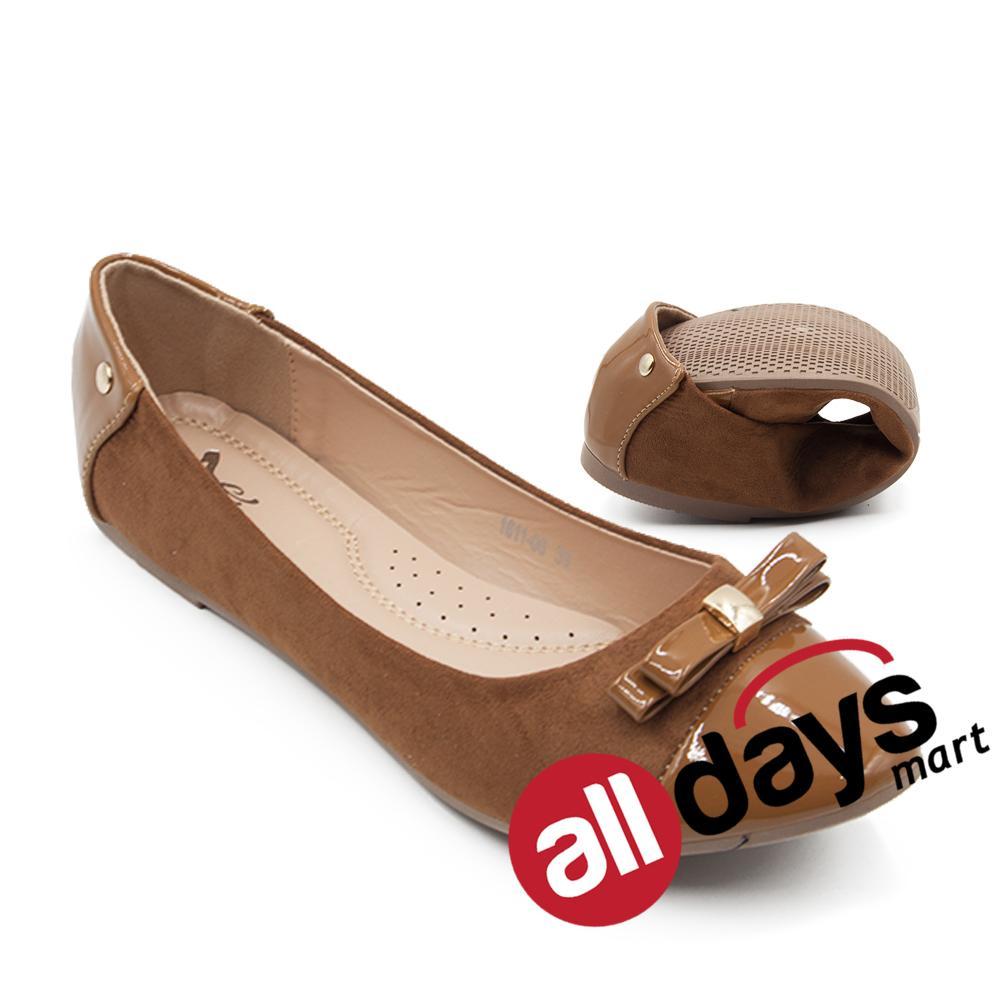 Toko Dea Sepatu Flat Trepes Selop Lady Flat Shoes 1611 06 Camel Lengkap Jawa Timur