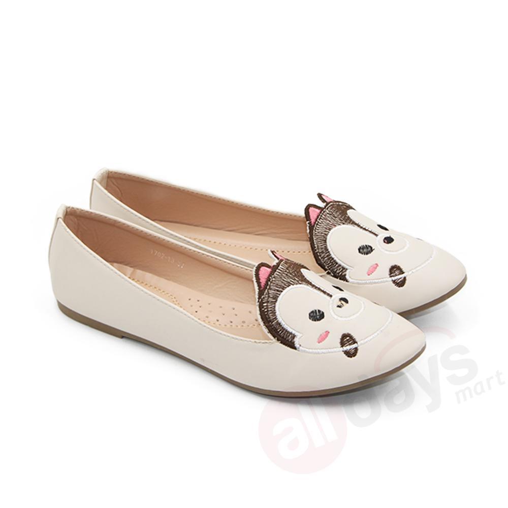 Jual Dea Sepatu Flat Wanita Trepes Selop Flat Shoes 1702 13 Beige Size 36 40 Murah Dki Jakarta