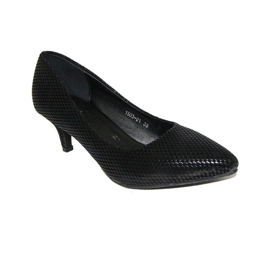 Jual Dea Sepatu Pantofel Wanita 1503 01 Hitam Online