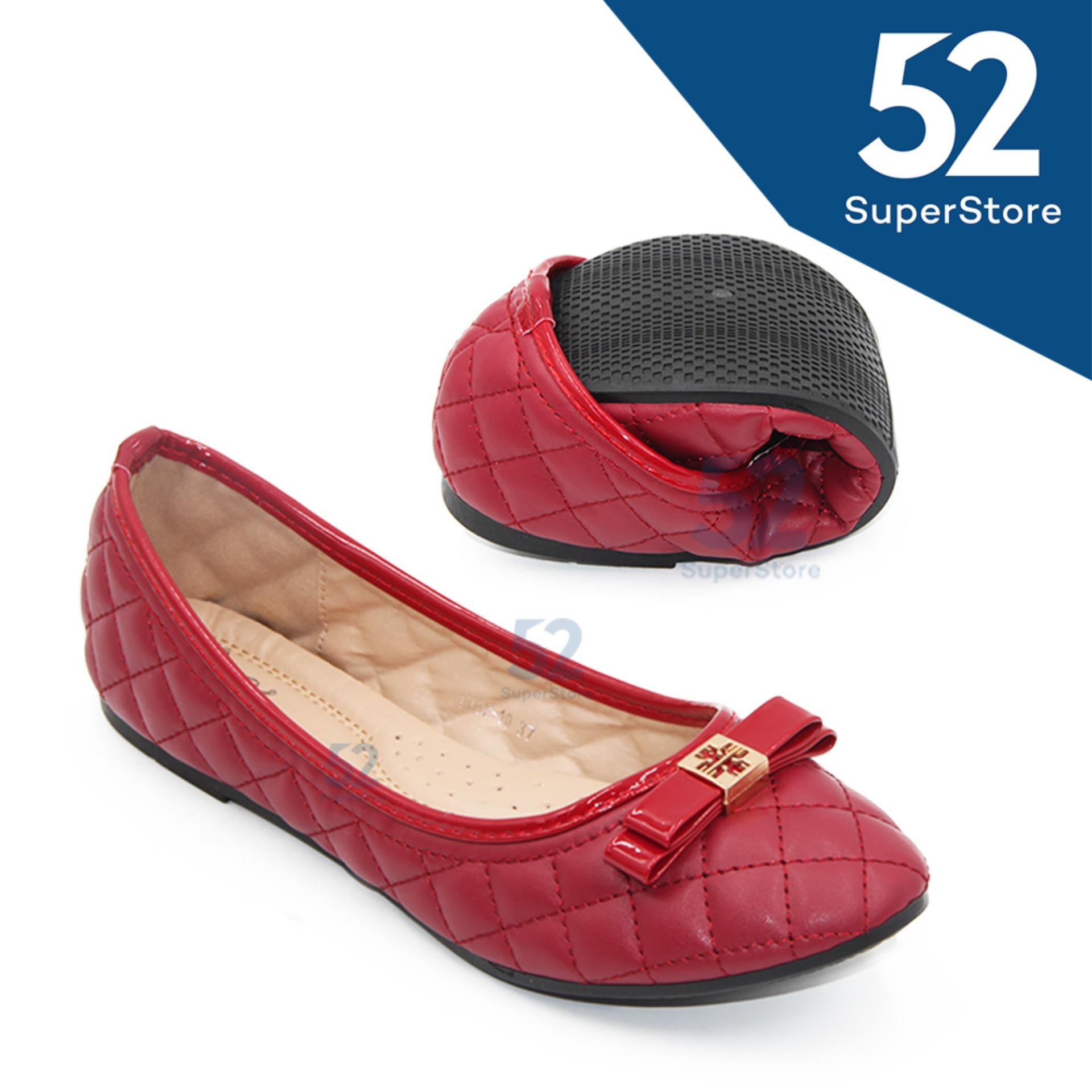 Iklan Dea Shoes Ladies Flat Shoes 1702 10 Maroon 36 41