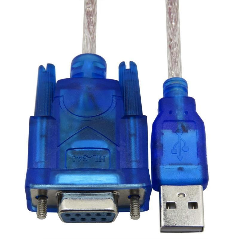 Deconn Usb 2 Untuk Rs232 Serial Db9 Pin Female Cable Windows 8 No Cd Intl Murah