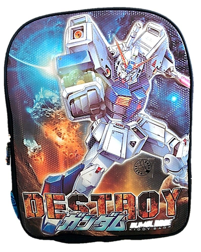 Diskon Besardeerde Ransel 3D Transformer Sound Light Biru