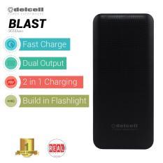 Harga Delcell Blast Powerbank 9000Mah Real Capacity Black Jawa Barat