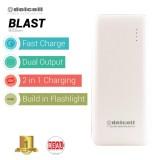 Spesifikasi Delcell Blast Powerbank 9000Mah Real Capacity Putih Lengkap Dengan Harga
