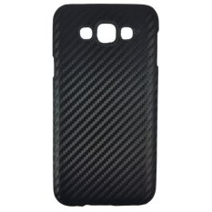 Delcell Carbon Case For Samsung Galaxy E7 - Hitam