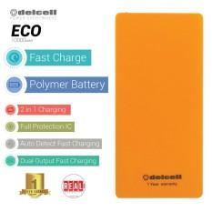 Toko Delcell Eco Powerbank 10000Mah Real Capacity Orange Online