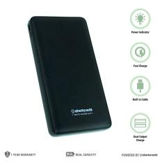 Beli Delcell Note Plus Powerbank Polymer Battery Real Capacity 12500Mah Hitam Kredit