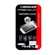Delcell Tempered Glass Premium Made In Japan For Oneplus One Terbaru