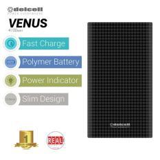 Jual Delcell Venus Powerbank 4100Mah Real Capacity Black Murah Di Dki Jakarta