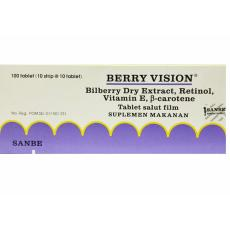 Delin Store - Berry Vision Tablet 1 Box