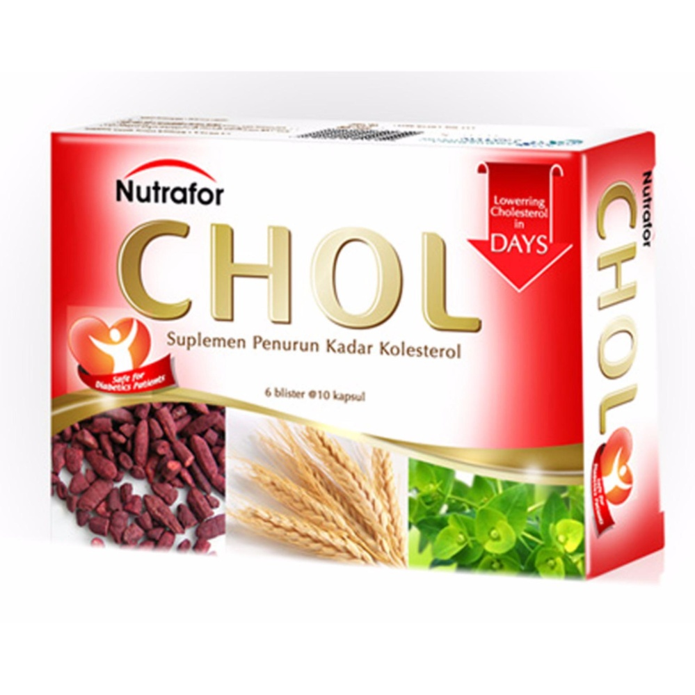 Jual Delin Store Nutrafor Chol Isi 60 Kapsul Menurunkan Kolesterol Di Bawah Harga