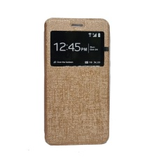 Delkin Flip Cover Lenovo K5 Plus A6020  - Gold