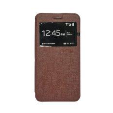 Delkin Flip Cover Samsung Note 2 - Cokelat