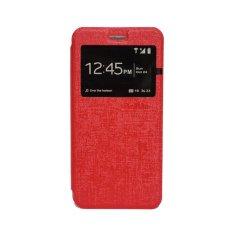 Delkin Flip Cover Samsung Note 3 - Merah