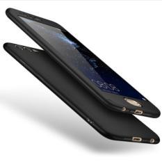Delkin Hardcase Full Case 360 (Depan-belakang) For Oppo F5 - Free Tempered Glass (PENGIRIMAN WARNA SESUAI PESANAN)