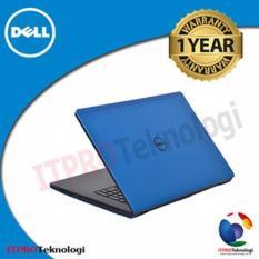 Dell Inspiron 3467 14 Core i3-6006U - 4GB RAM - 500GB HDD - AMD R5 2GB - UBT - Blue