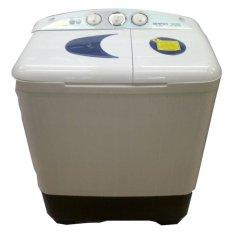 Denpoo DW828 Mesin Cuci 2 Tabung - 8 KG - Khusus Jabodetabek