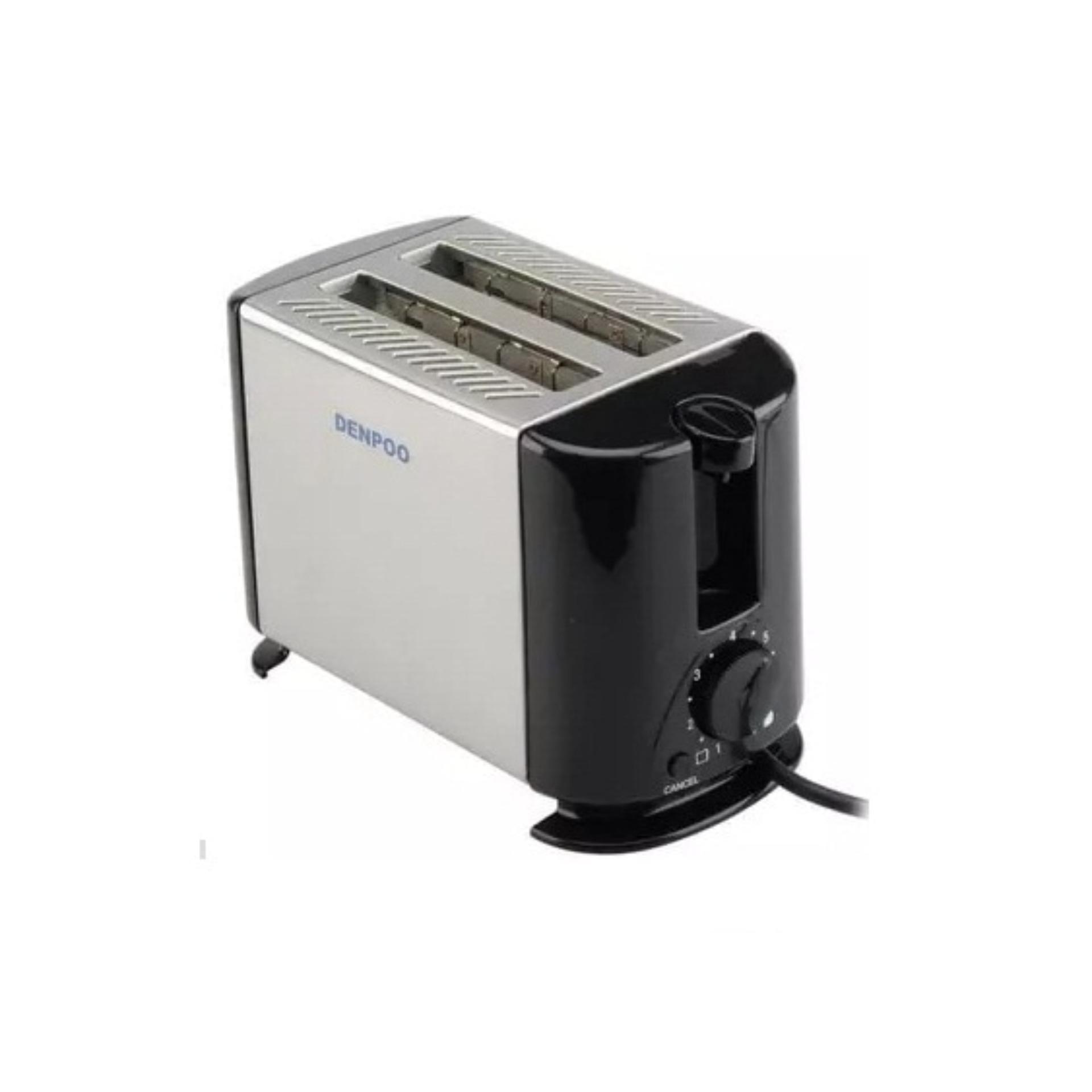 Denpoo Pemanggang Roti Elektrik DT-022D Toaster