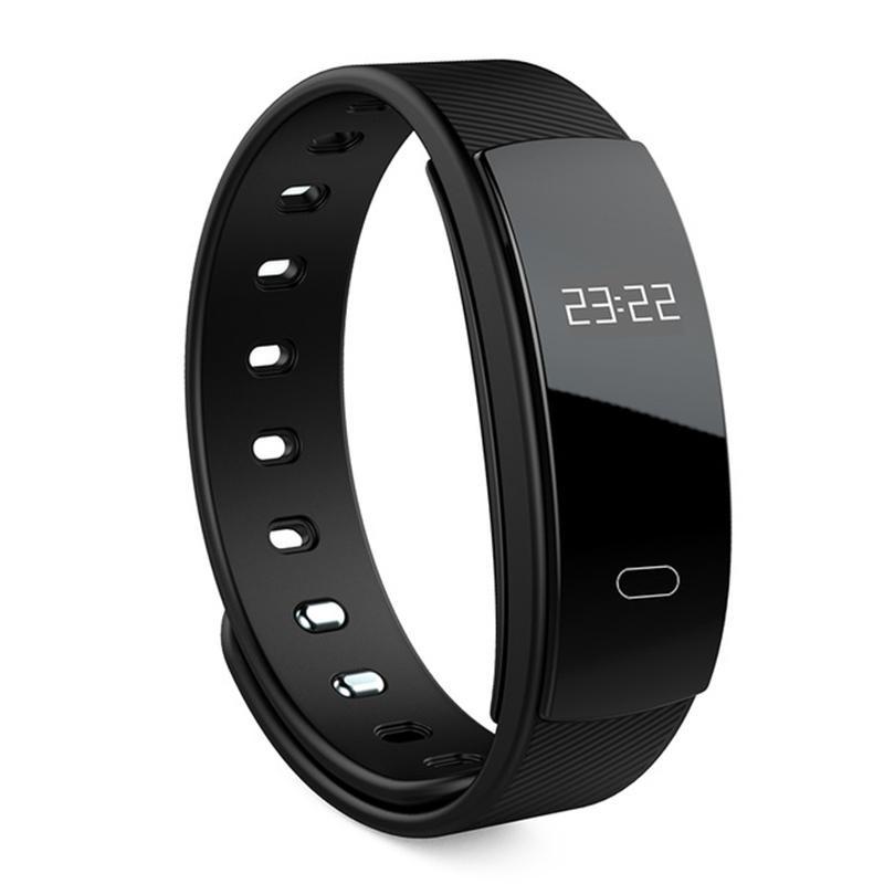 Denyut Jantung Kebugaran Tracker Smart Gelang Qs80 Jam Tangan Pergelangan Tangan Monitor Tidur-Intl