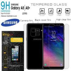 Harga Depan Belakang Anti Gores Kaca Samsung Galaxy A8 2018 Clear King Zu Origin