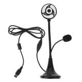 Dapatkan Segera Desk Mount 12Mp Hd Digital Webcam Dengan Led Dan Mikrofon Untuk Pc Notebook Intl
