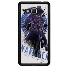 Destiny Warlock Poster Z4225 Samsung Galaxy J2 Prime Custom Hard Case