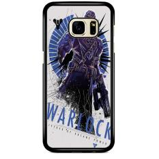Destiny Warlock Poster Z4225 Samsung Galaxy S7 Edge Custom Hard Case