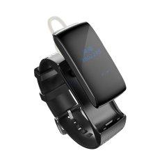 Spek Df22 Smart Band Talkband Bluetooth Watch Gelang Portable Talk Smartband Pedometer Aktif Pemantau Kebugaran Untuk Ios Android Iphone Intl