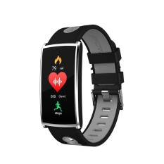 DHN N68 Colorful LED Screen Smart Watch Bluetooth 4.0 Bracelet Health Heart Rater Blood Pressure Monitor Fitness Tracker - intl