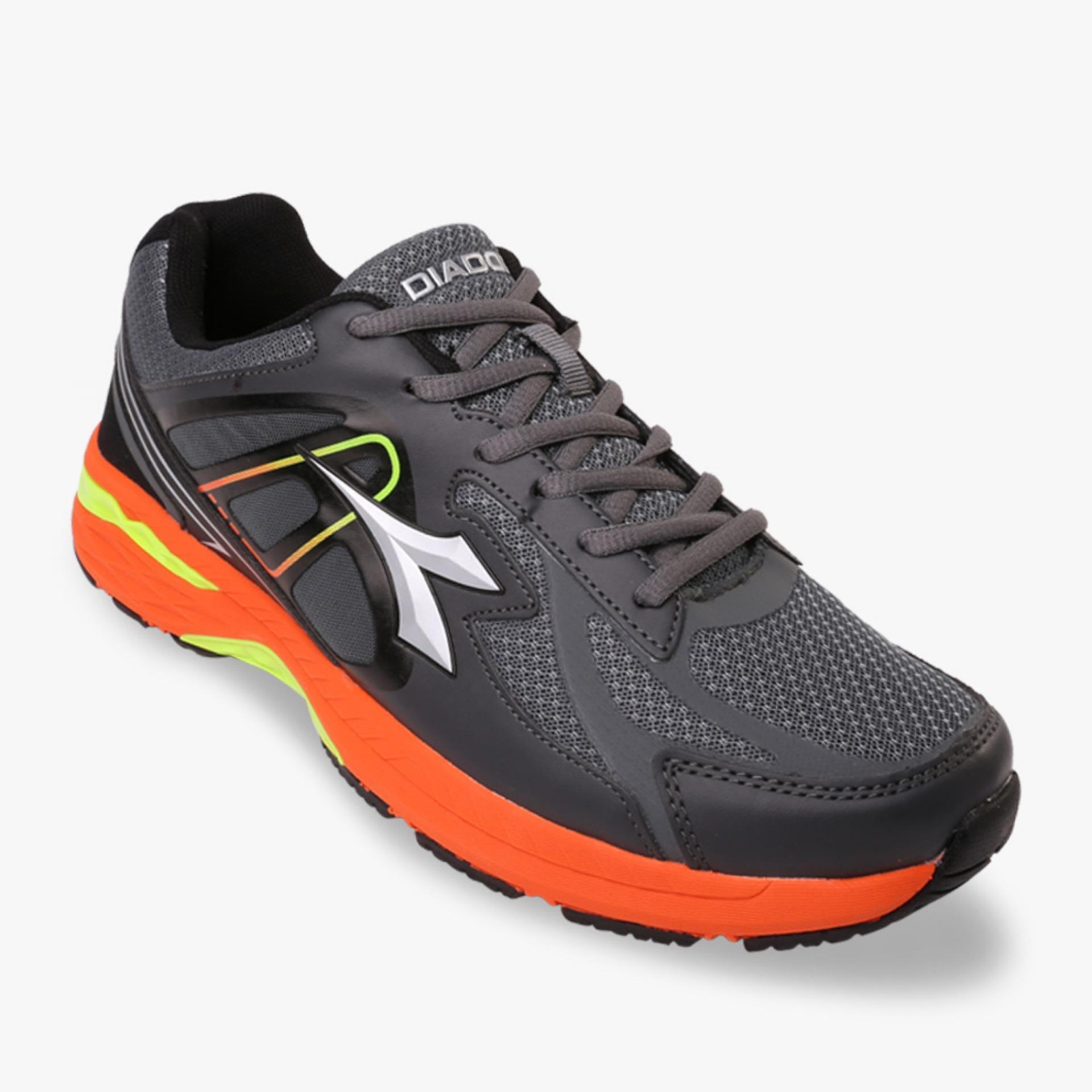 Jual Diadora Damiano Men S Running Shoes Abu Abu Termurah