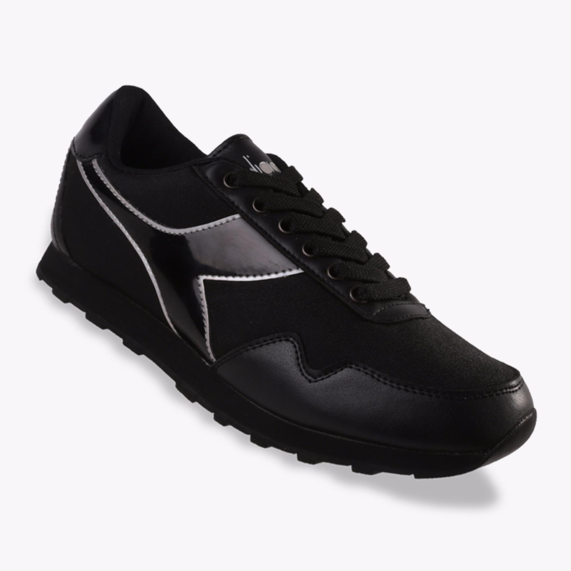 Toko Diadora Edita Women S Sneakers Shoes Hitam Online Di Indonesia