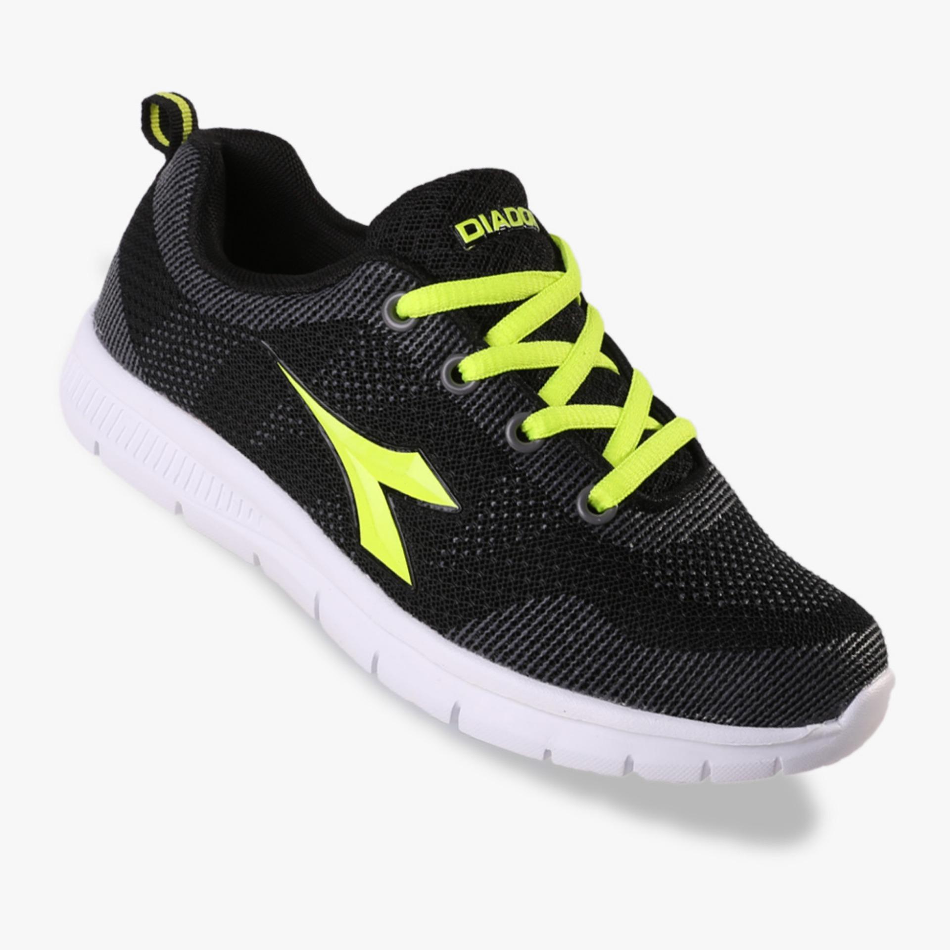 Harga Diadora Esta Boys Sneakers Shoes Hitam New