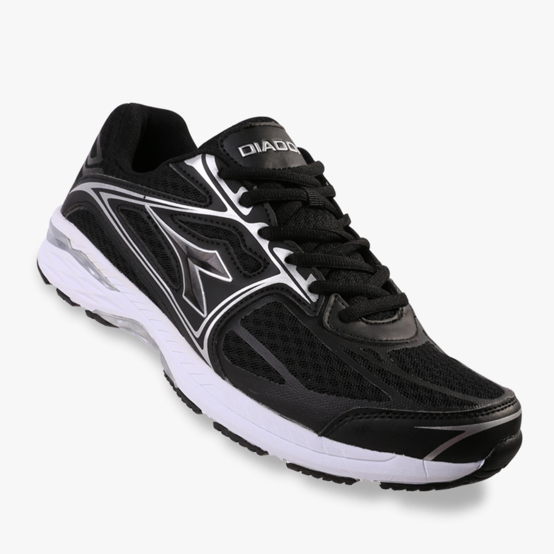 Diadora Fabio Men S Running Shoes Hitam Original