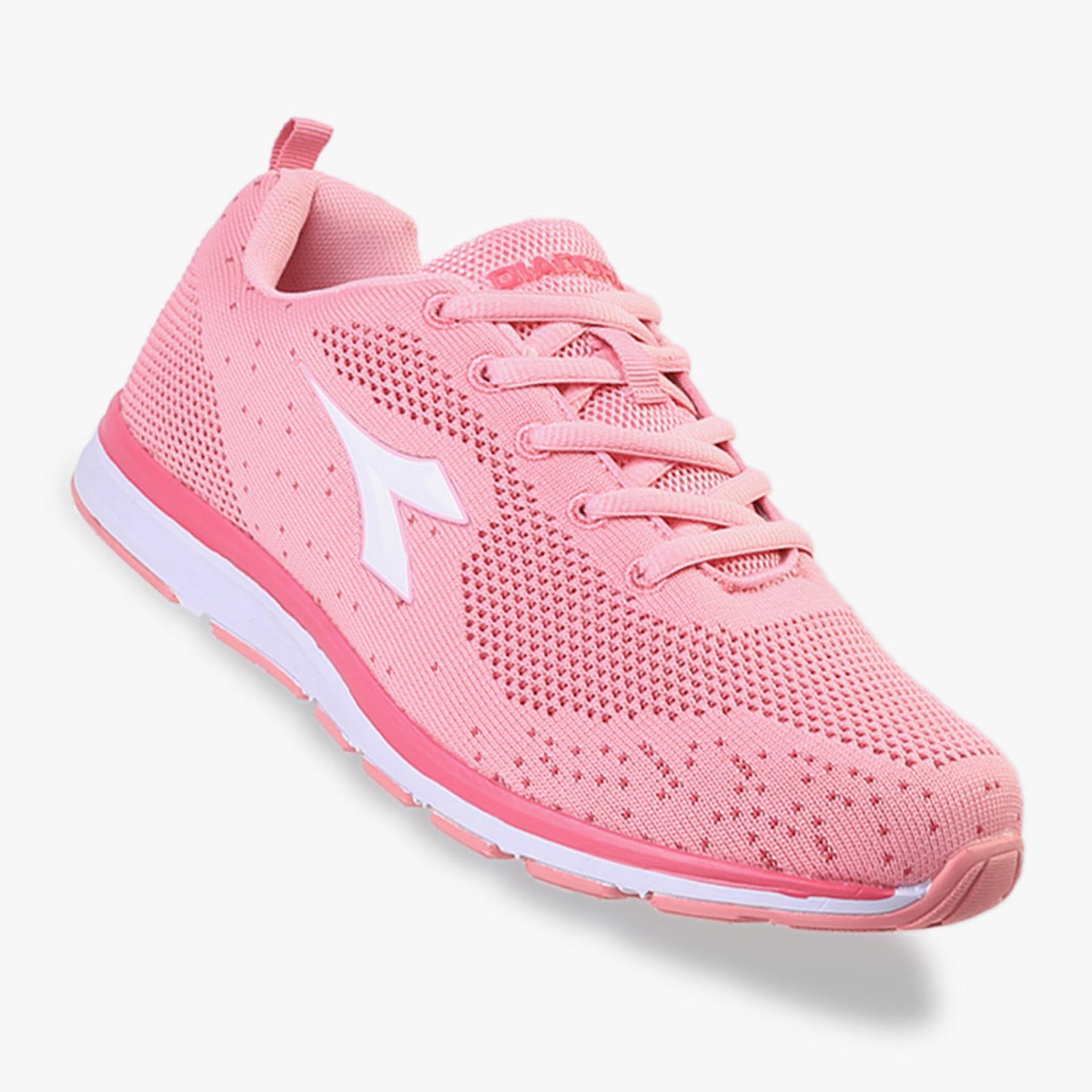 Harga Diadora Fiorelo Women S Running Shoes Pink Fullset Murah