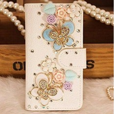 Diamond Crystal Rhinestone Flip PU Leather Wallet Case For Xiaomi Redmi Note 5A Phone Case for Xiao