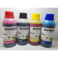 Diamond Tinta Epson Best Quality Ink 250ml (1 Set 4 Warna)