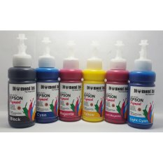 Harga Diamond Tinta Epson Pigment Isi Ulang Best Quality Ink 1 Set 6 Warna Lengkap