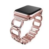 Spesifikasi Berlian Gelang Stainless Steel Watch Band Tali Untuk Apple Watch Series 3 42Mm Intl Terbaru
